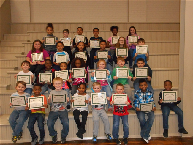 Lilbourn Elementary 3rd Quarter Outstanding Students