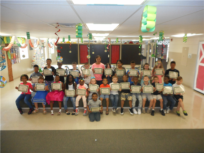 Lilbourn Elementary 4th Quarter Outstanding Students