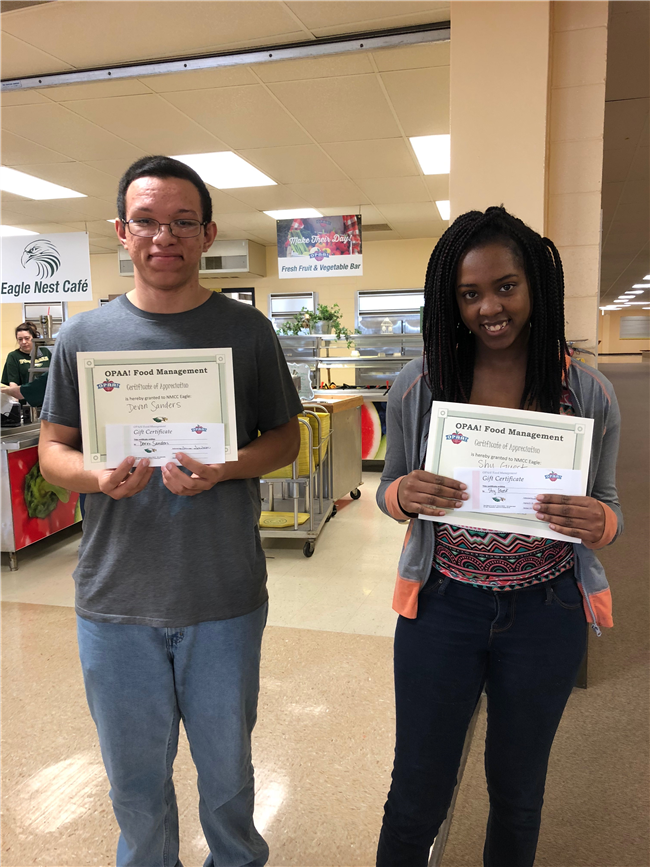 OPAA Students of the Week March 12-16