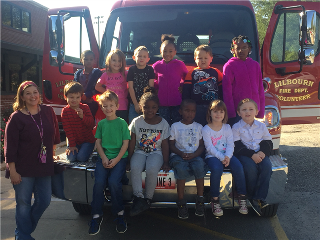Fire Prevention at Lilbourn Elementary
