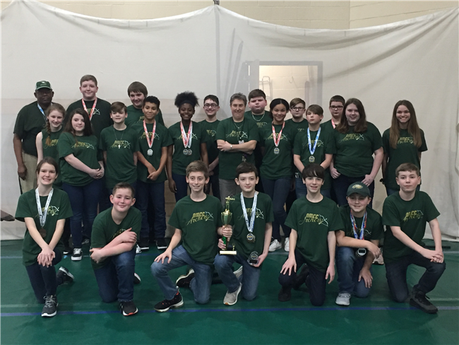 Middle School Archery: 1st place as NMCC hosts regional contest!