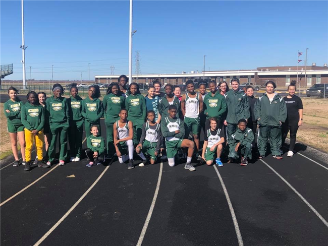 First MS Track Team Begins Season!