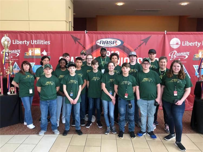 MS and HS Archers Compete in Branson at State NASP Tournament!