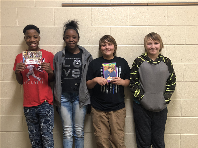 7th Graders Get Mail From Author