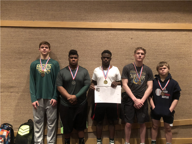 NMCC Wrestlers Compete At AAU State